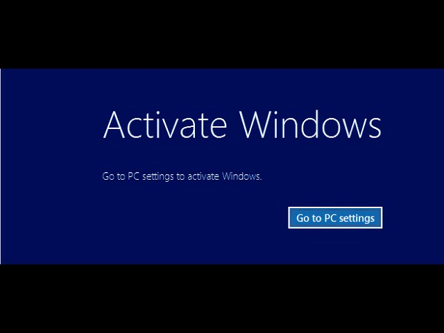 Get rid activation notification from the windows10881 deezzone ccuart Gallery