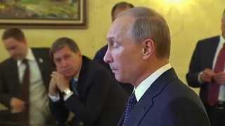 Владимир Путин о санкциях, ситуации на Украине и трагедии в московском метро