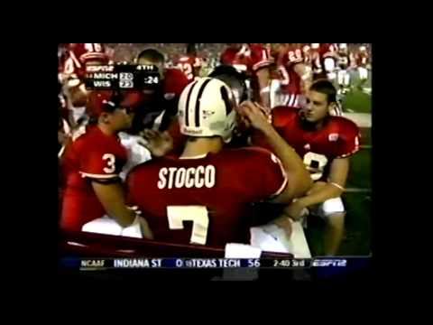 John Stocco QB draw tops Michigan