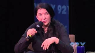 Marina Abramović speaks about Love and Drinking Water Consciously