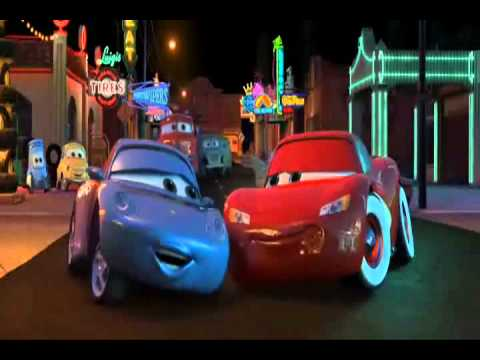Cars- Lightning McQueen and Sally Carrera \