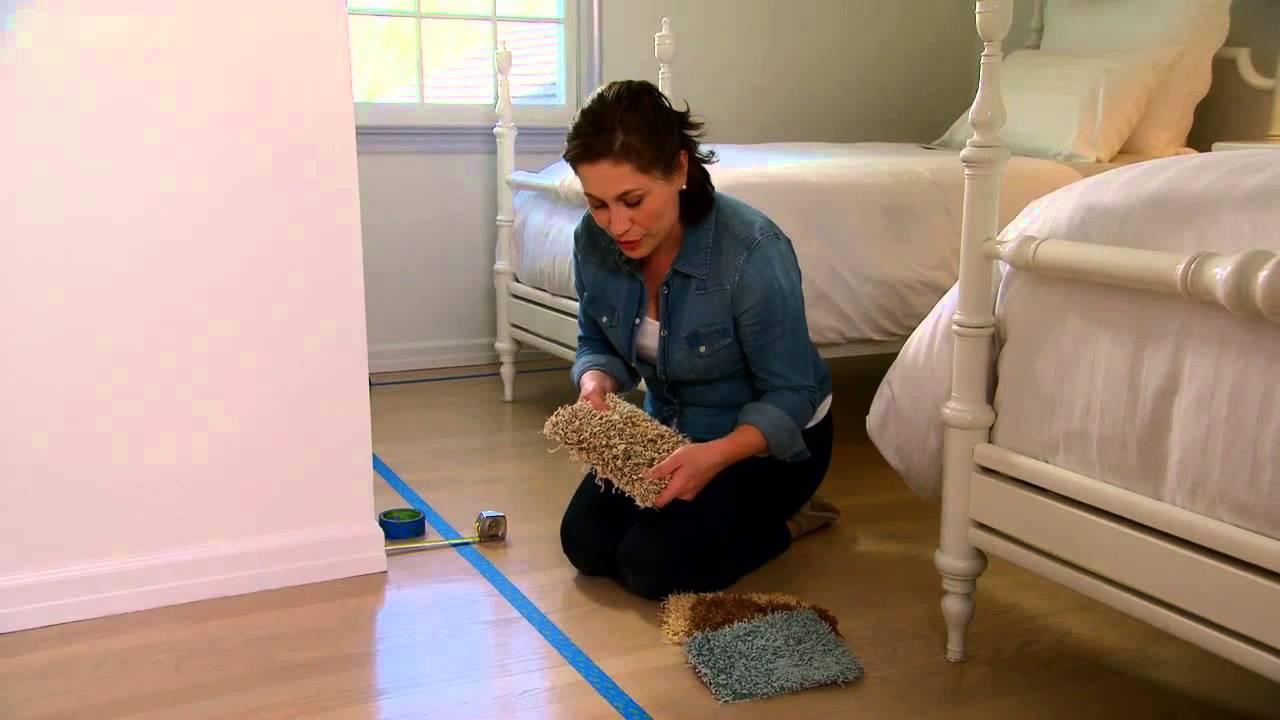 Learn u0026 Do Custom-Bound Area Rugs - Martha Stewart