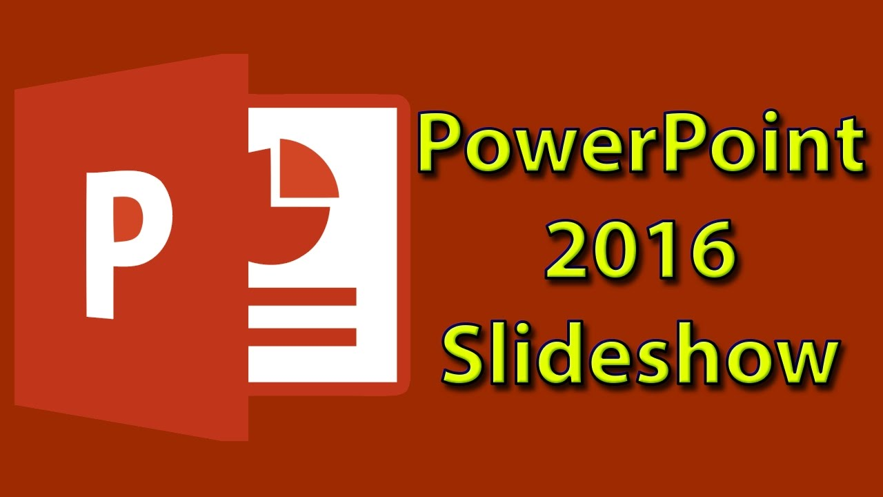 How to make a photo slideshow in PowerPoint 2016 - Tutorial