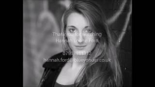 Hannah Louise Ford 2017 Singer/Dancer Showreel