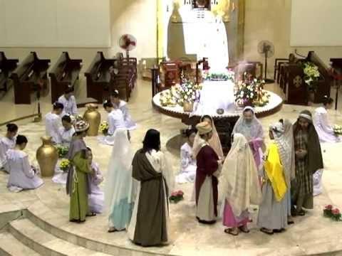 Dâng hoa 2011 ( phần 3 : hoạt cảnh tiệc cưới Cana và Mùa Thương )