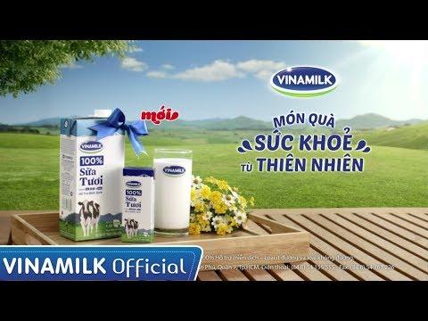 Quảng cáo Vinamilk – Sữa tươi Vinamilk 100% - Món quà sức khỏe từ thiên nhiên