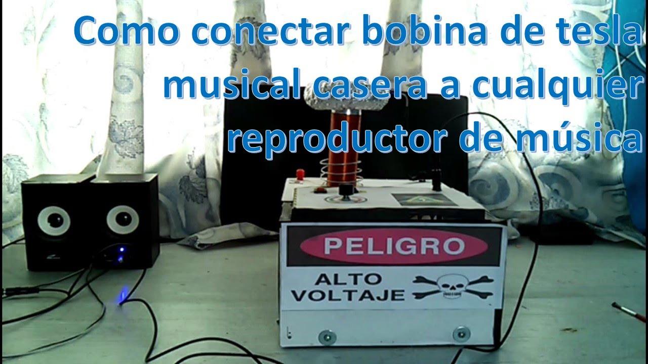Circuito Bobina De Tesla : Mini bobina de tesla musical casera como conectar música youtube