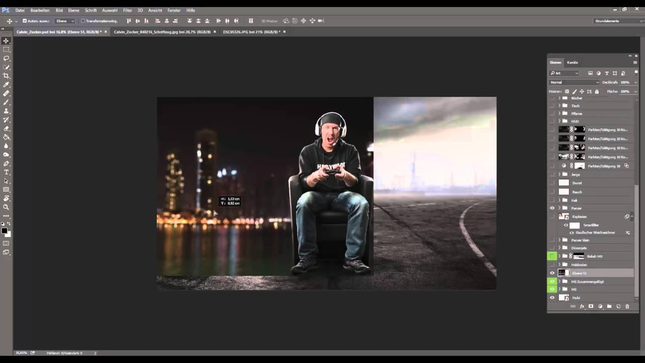 Photoshop Tutorial Bokeh Hintergrund Erstellen Youtube