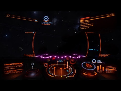 Flo and Moe vidja game show-ish - Elite Dangerous CG Hunting
