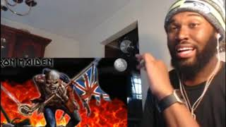 KING KTF | Iron Maiden - The Trooper - REACTION
