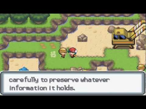 Pokemon Light Platinum Walkthrough Part 26 - Carmin Town & Rocavely City