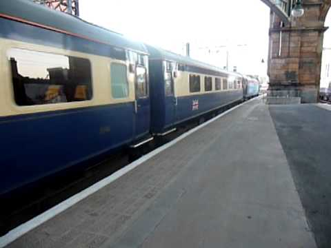 Cruise Saver ECS departs Glasgow Central.