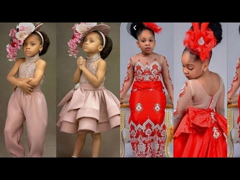 African Kids Fashion | Trending Ankara & Lace Designs Perfect For Teen Girls & Boys