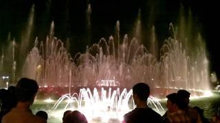 Новые огненные эффекты поющего фонтана в Баку(Новый огненные эффекты поющего фонтана под аккомпанемент Ганса Зиммермана и его великолепных
