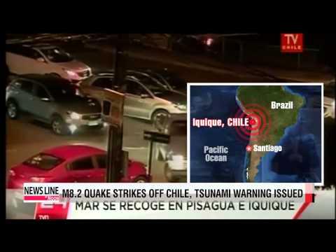 Powerful earthquake hits off Chilean coast