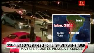 Powerful earthquake hits off Chilean coast