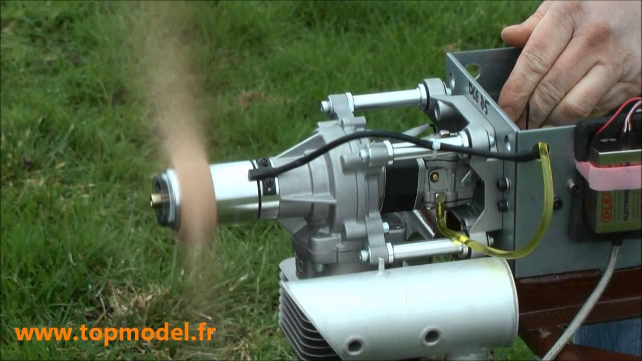 MOTEUR DLE85 DLE Engines - TOPMODEL