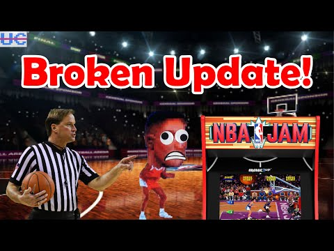 NBA Jam Firmware Update Broken: Don't Download! Update On The Fix + Arcade1up Design Contest from Unqualified Critics