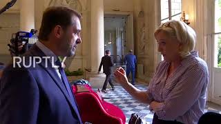 France: Le Pen and Castaner have war of words over Benalla case