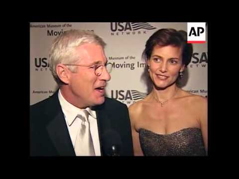 UPDATE Stars Honour Richard Gere At American Museum Of Moving Image
