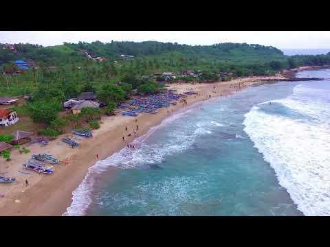 Pantai Sawarna Tanjung Layar Banten