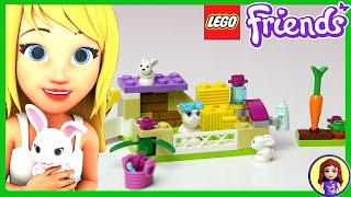 Lego Friends Bunny and Babies Toy Set Build and Review - Kids Toys