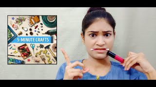 I Tried 5 Minute Crafts Hacks || Work or Not???