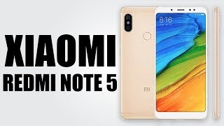 Xiaomi Redmi Note 5 - 5.99 inch / MIUI 9 / 3GB RAM + 32GB ROM / Dual Rear Cameras / 4000mAh Battery