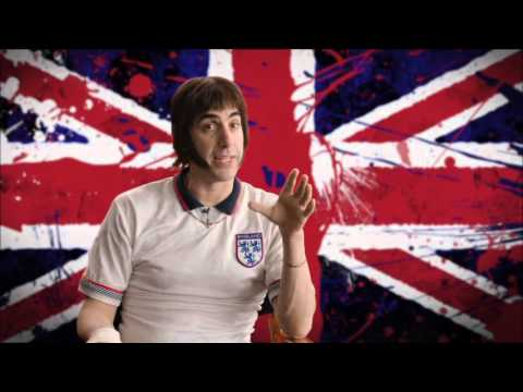 """The Brothers Grimsby """"Nobby"""" Behind The Scenes Interview - Sacha Baron Cohen - Grimsby"""