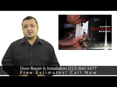 Commercial Door Repair & Installation |  NY Metro area: NYC, Brooklyn, Queens, Long Island, Bronx