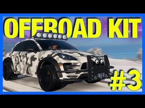 Forza Horizon 4 Let's Play : Offroad Bodykit Porsche Macan Customization!! (Part 3)