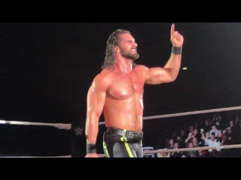 Seth Rollins burns it down in Dublin
