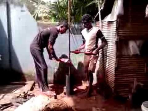 How Tube Well Drilling - Tube Well Construction Work in  Sri Lanka