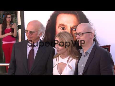Larry David, Amy Ryan, Greg Mottola at Clear History Los ...