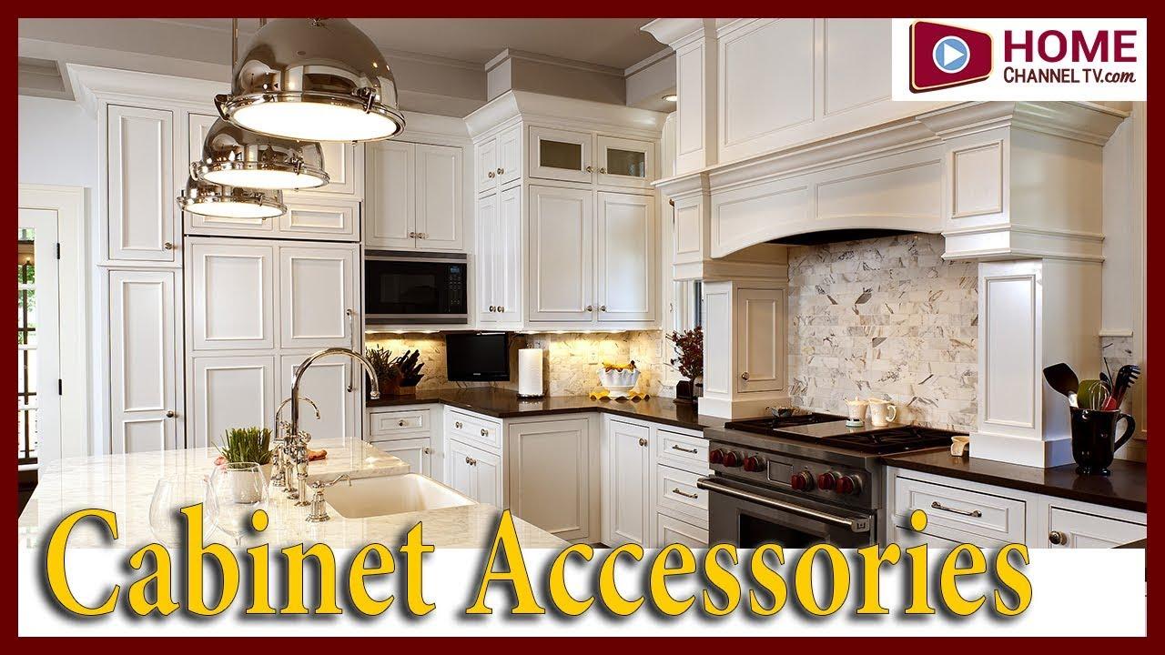 Kitchen Remodel & Design Ideas: Cabinet Accessories - YouTube