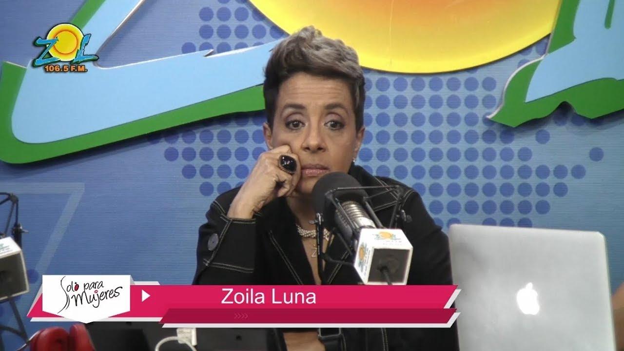 """Zoila Luna """"Anthony Ríos fue mi amigo, mi papá, mi protector"""
