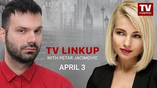 InstaForex tv news: TV Linkup April 3: What are odds USD will extend strength?