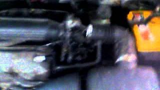 Daewoo Matiz Дэу матиз плавают обороты на горячем двигателе, мигает лампа давления масла