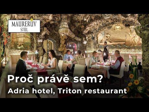 Adria hotel, Triton restaurant