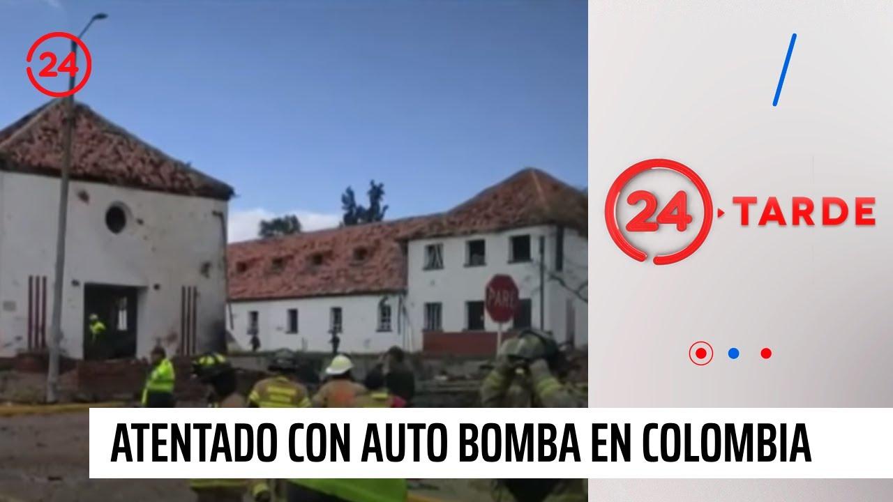 Explosión de auto bomba en escuela de policía de Bogotá deja víctimas fatales