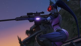 Overwatch Widowmaker Montage | Diamond moments | 360 / 720 Jumpshots