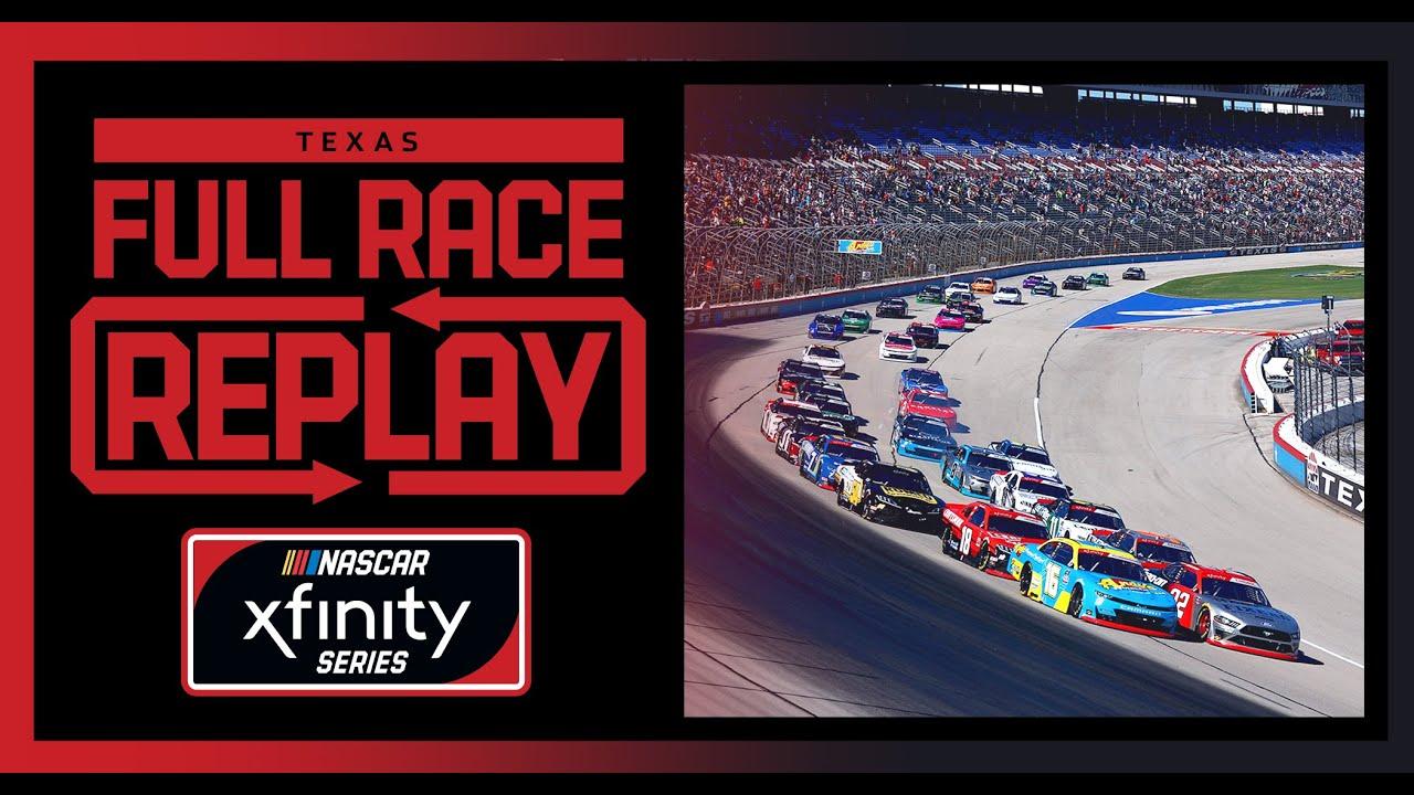 Andy's Frozen Custard 335 from Texas Motor Speedway   NASCAR Xfinity Series Full Race Replay