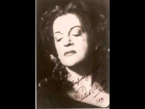 ASTRID VARNAY   1950 Live   Johohoe! Senta's Ballad) Der fliegende Holländer   WAGNER