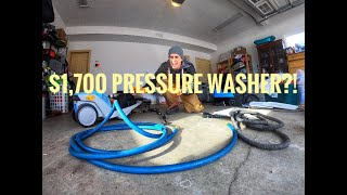 Should you buy the Obsessed Garage Kranzle Pressure Washer? (no.)