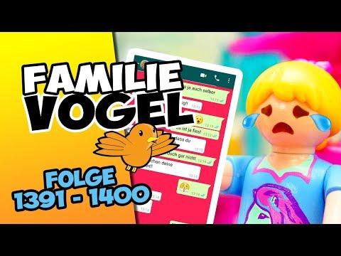 Playmobil Filme Familie Vogel: Folge 1391-1400 Kinderserie   Videosammlung Compilation Deutsch