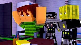 HAUS DURCHSUCHUNG von der POLIZEI?! - Minecraft ALLTAG