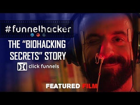 The Biohacking Secrets Story. Funnel Hacker TV Feature Films - Episode 1