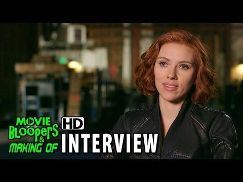Avengers Age Of Ultron 2015 Bts Movie Interview Scarlett Johansson Natasha Romanoff Black Widow