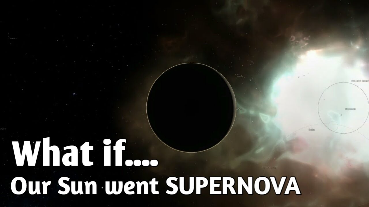 WHAT IF OUR SUN WENT SUPERNOVA - YouTube
