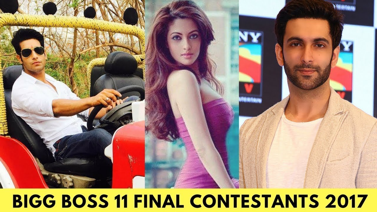 Bigg Boss 11 confirm contestants Name List with photos